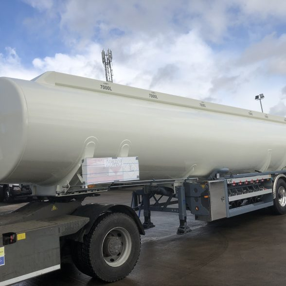 New LAG 6 Compartment Fuel Tanker
