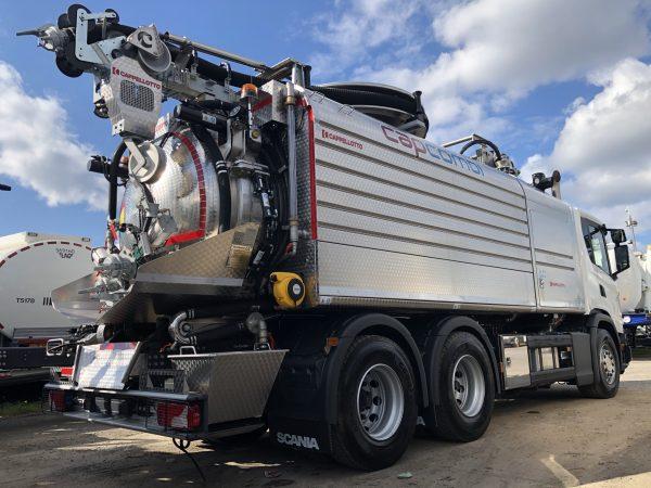 Cappellotto CapCombi 2600 CL Waste Tanker